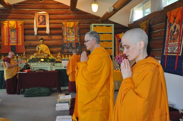 Ceremonies of monastic life.