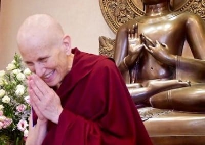 Ven. Chodron moves on to teach the community at Buddhist Fellowship.