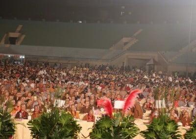 audience in stadium