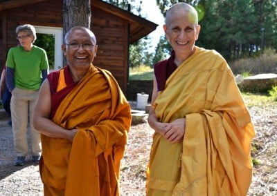 Long-term Dharma friends.