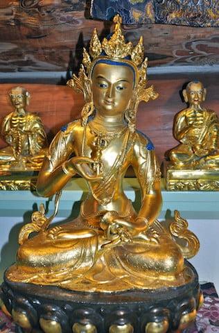 A statue of Vajrasattva