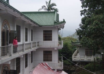 A view of the one of the buildings that housed many of the nuns.