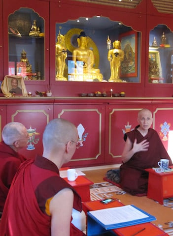 Venerable Chodron share her experience of Sravasti Abbey and answers questions from the nuns at Semkye Ling.