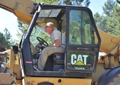 Forklift operators require skills such as mindfulness, patience, and respect for the 40,000-pound machine, and Jeremiah has all these.