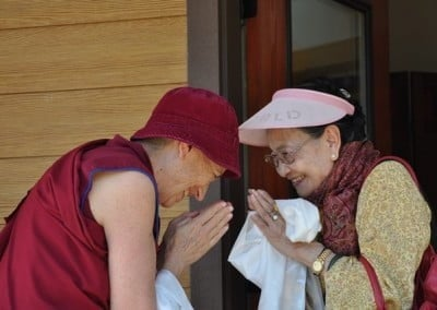 Venerable Thubten Chodron expresses her gratitude and says goodbye.