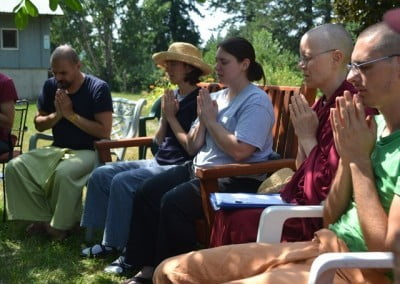 A daily discussion group is one of the ways we explore monastic life.
