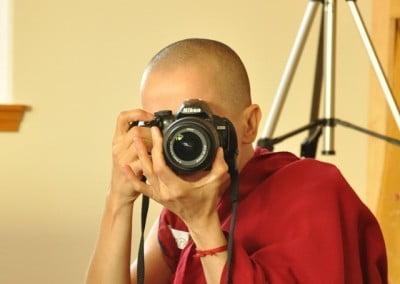 "Venerable Thubten Jampa says, ""Say bodhicitta."""