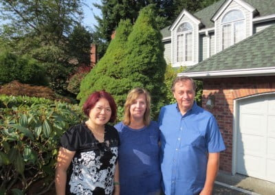They also stop at the home of Abbey friend Sue, who sends an enormous offering of Chinese food back to the Abbey.