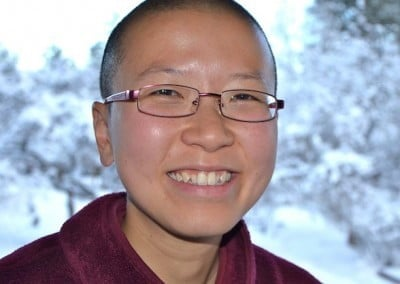 Venerable Thubten Damcho from Washington