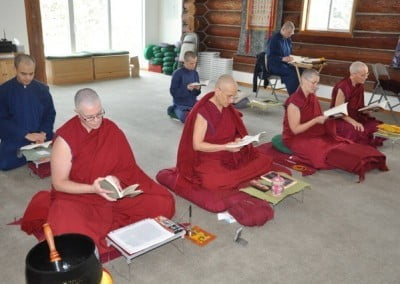Each year the Abbey Community celebrates Christmass by reading aloud Shantideva's text, A Guide to a Bodhisattva's Way of Life.