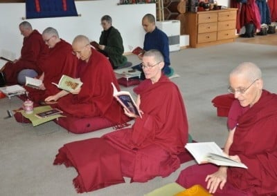 After reading his text we are filled with Shantideva's blessings, inspiring us to continue on the Bodhisattva's Path.