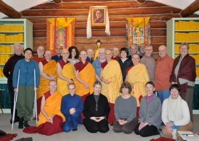 Newly purified friends of Vajrasattva.