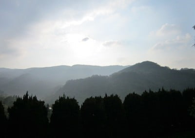 View from Pui-Yin Monastery.