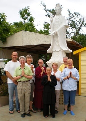 Venerable Chonyi recently traveled to Boise and shared the Dharma with wonderful Treasure Valley Dharma Friends.