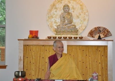 Venerable Thubten Chodron teaches with her usual wisdom and joy.