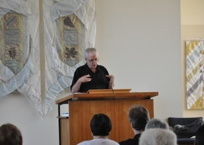 The sermon connects ideas and values that Unitarians and Buddhists have in common and the places where they differ.