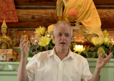 "Guy teaching on ""Wisdom and the 'Don't Know' Mind in Buddhism."""