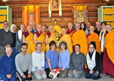 The entire retreat wants to cultivate loving-kindness for all.
