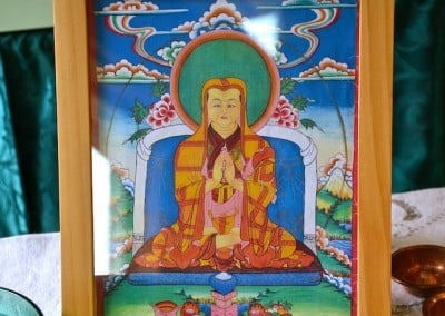 Bhikshuni Gelongma Palmo is the lineage holder for the Nyung Ne practice.