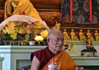 Geshe Thabkhe gives us his wisdom.