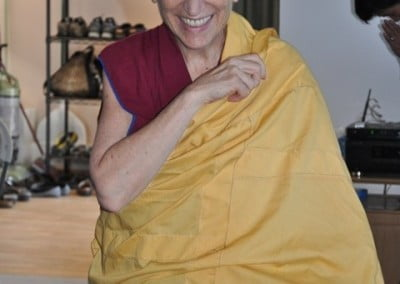 Venerable Thubten Chodron enjoys teaching.