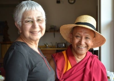 Geshe Dadul shares many conversations about the teachings with Tanya.