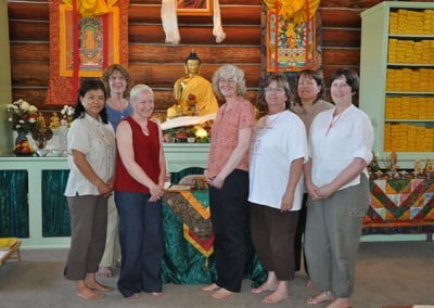 Dharma friends from Coeur d'Alene have been key Abbey supporters since our founding in 2003.