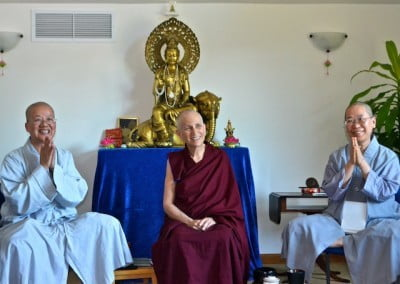 Three accomplished senior bhikshunis give us outstanding examples to emulate.