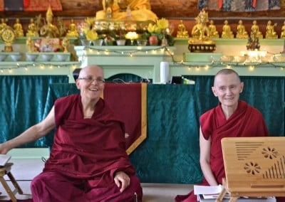 Vens Semkye and Samten answer general questions about the Dharma.