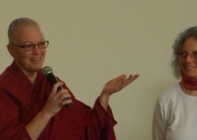 Ven. Yeshe shares her thoughts on the importance of fully ordained nuns in Buddhism.