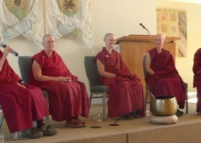 The Sravasti Abbey bhikshunis share their personal journeys to ordination.
