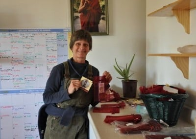 Ruth from Helena, Montana puts her creative efforts into gift making.