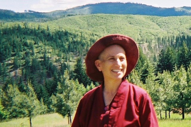Ven. Chodron's first view of the property that became Sravasti Abbey.