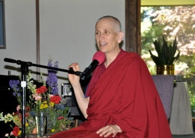 Venerable Chodron gives an inspiring teaching on forgiveness.