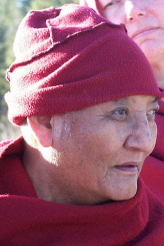 A kind and wise teacher - Khensur Jampa Tegchog Rinpoche