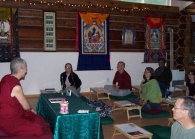 Venerable Chodron teaches on the kindness of sentient beings and equanimity in depth throughout the weekend.