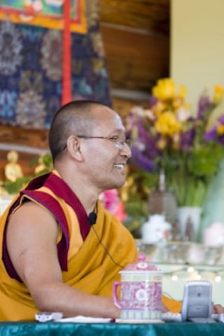 Geshe Namgyal brings wisdom, compassion, and joy to all his teachings.