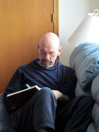 Tom uses journaling to get clarity on <br> his retreat practice experience.