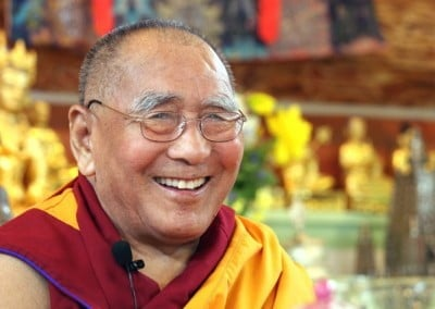 Geshe-la's sense of humor made Shantideva's text very accessible.