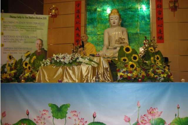 Pureland Marketing and FOSAS create a beautiful environment for teachings.