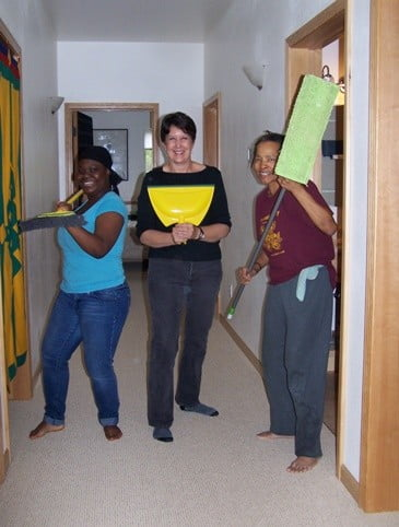 The mighty trio of Howa, Sally, and Cheryl make Gotami House sparkle.