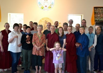 Our wonderful friends and sangha.