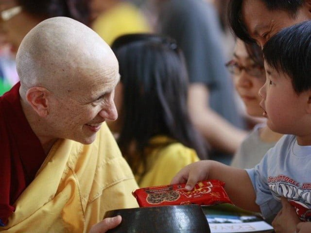 Generations of offering to the sangha.