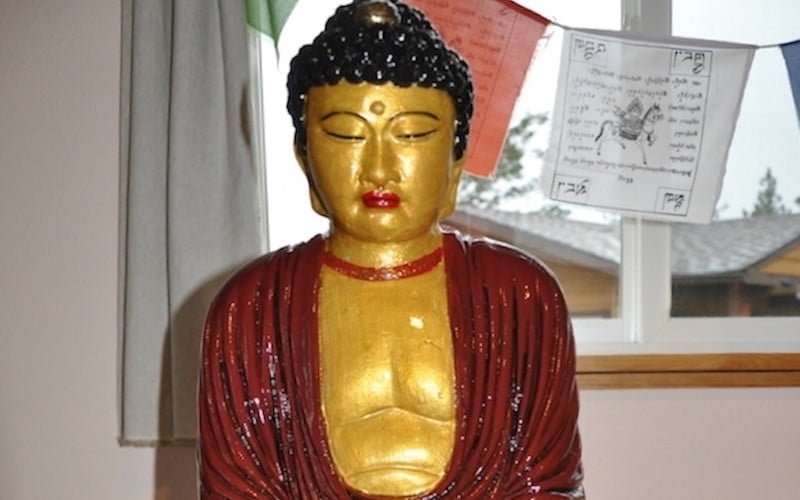 Juliet Restores the Buddha at Sukhavati