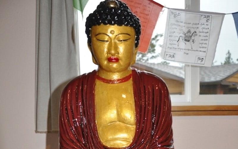 Juliet Restores the Buddha at Sukhavati