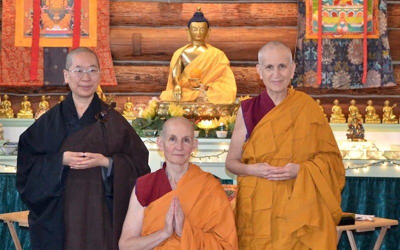 Ven. Tenzin Tsepal Joins the Abbey Community