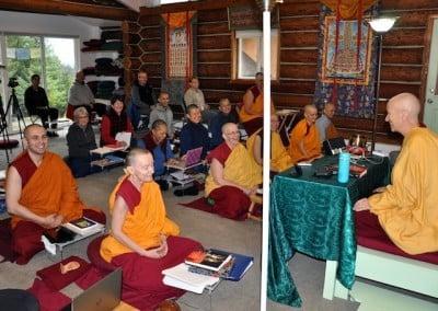 Venerable's teachings keep us all very energized!