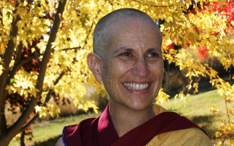 Ven. Chodron Receives Global Bhikkhuni Award
