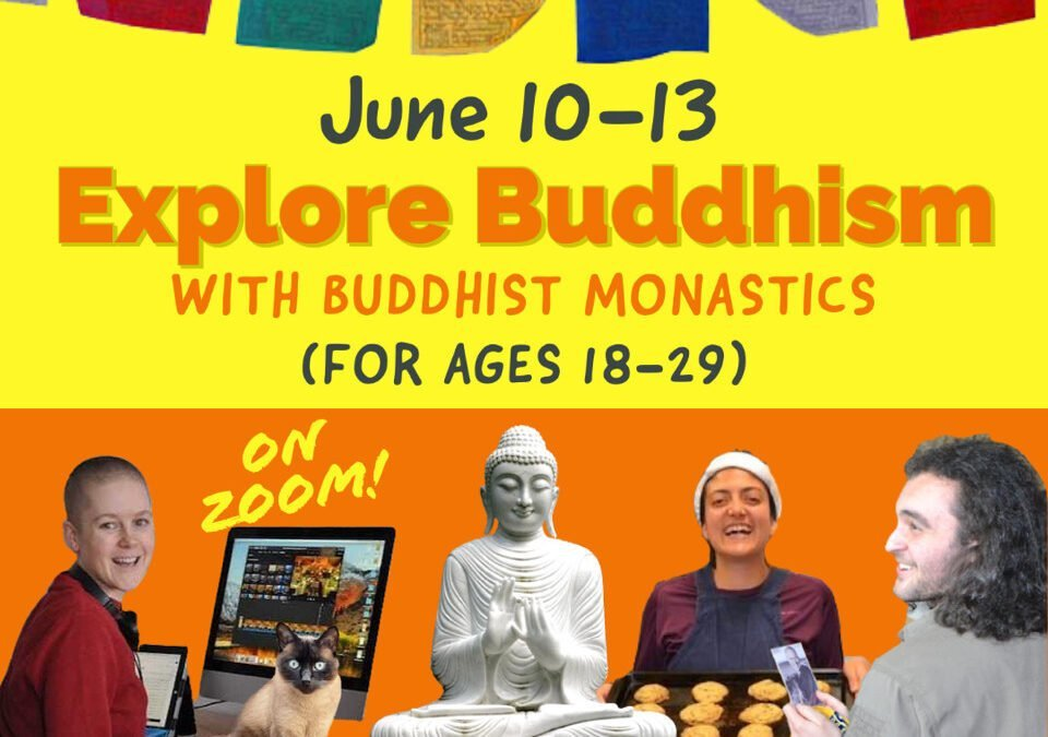 On Zoom: Exploring Buddhism