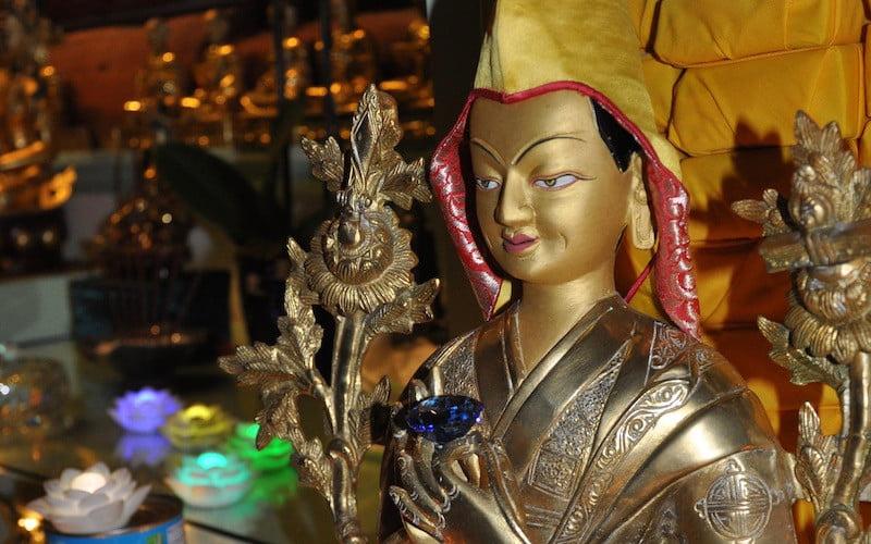 Statues of Tsongkhapa